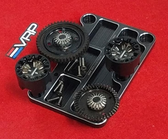 VRP CNC Diff Service Tray for TLR (Black)
