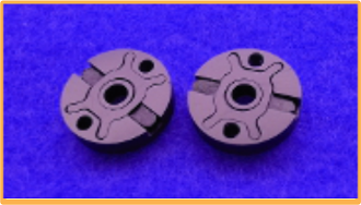 VRP 'X' Pistons 2 Hole 1.6mm Flats for Kyosho
