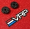 VRP 'XV2' Pistons 3 Hole 1.4+1.0mm for Associated V2